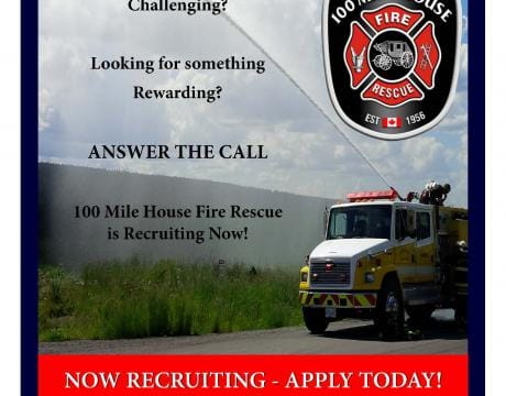 100 Mile Fire-Rescue Recruiting
